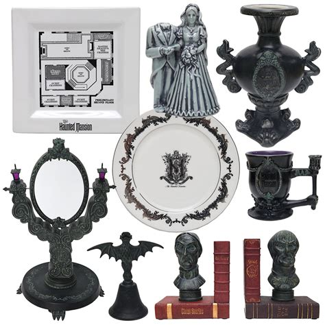look at new haunted mansion merchandise appearing