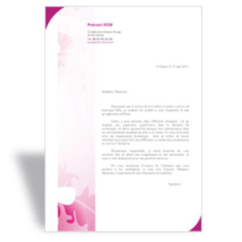 Lettre De Motivation De Estheticienne mod 232 le lettre de motivation esth 233 ticienne 224 t 233 l 233 charger en