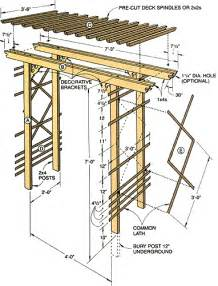 wedding trellis plans how to build a simple entry arbor like you entrance and