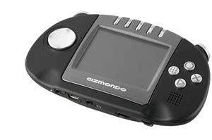 gizmondo console gizmondo handheld console the register