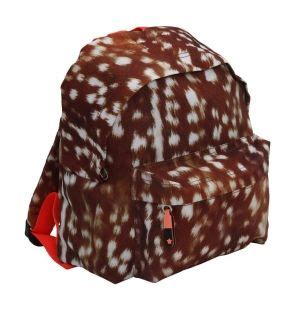 Deer Print Backpack molo deerskin backpack 163 29 95 molo