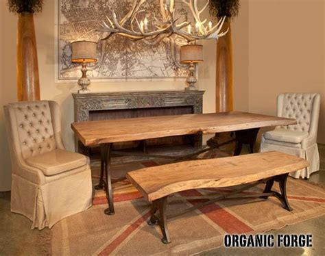 organic forge dining table 32 best nomad images on buffet