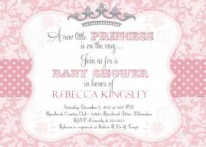 Princess Baby Shower Invitation Templates Free by Pink Princess Baby Shower Invitation