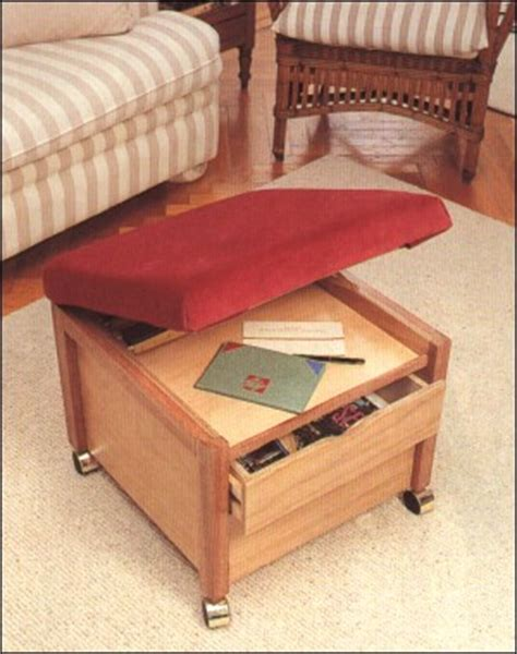 storage ottoman plans how to build ottoman plans pdf plans