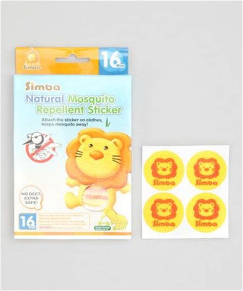 Set Mk Simba Set Momkid Simba mosquito repellent sticker safety for collection on zulily the great outdoors