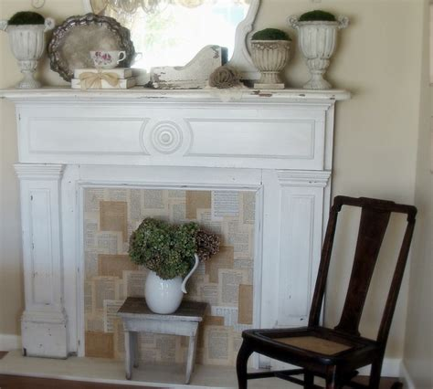 Faux Fireplace Mantels by Ohgraciepie Faux Fireplace Mantels
