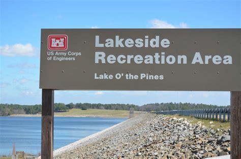 table lake of the pines lakeside park lake o the pines