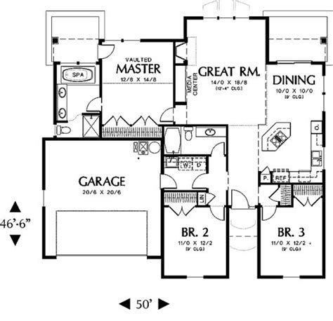 home floor plans under 1500 sq ft 1500 square feet floor plans home deco plans
