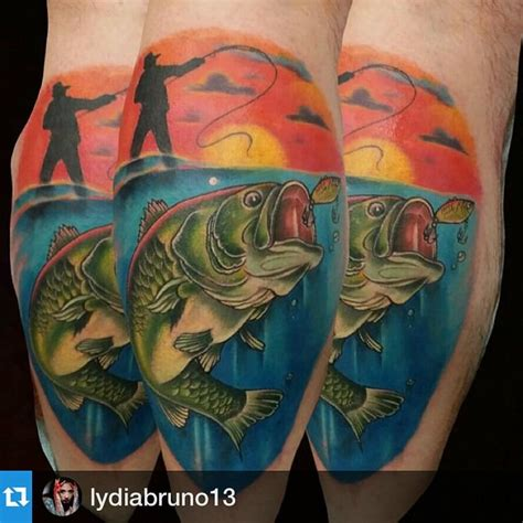 bass fishing tattoos smallmouth bass fish tattoos www pixshark images