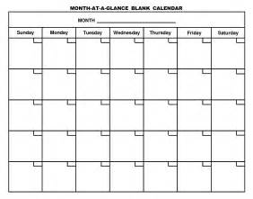 monthly schedule template printable calendar templates