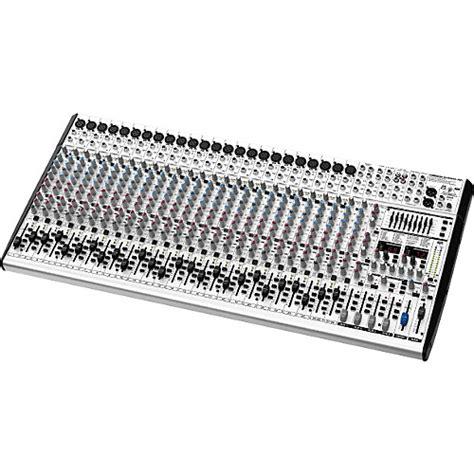 Mixer Behringer Sl3242fx Pro behringer eurodesk sl3242fx pro mixer guitar center
