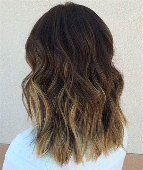 brown sombre medium hair style 25 hot long bob haircuts and hair color ideas part 2