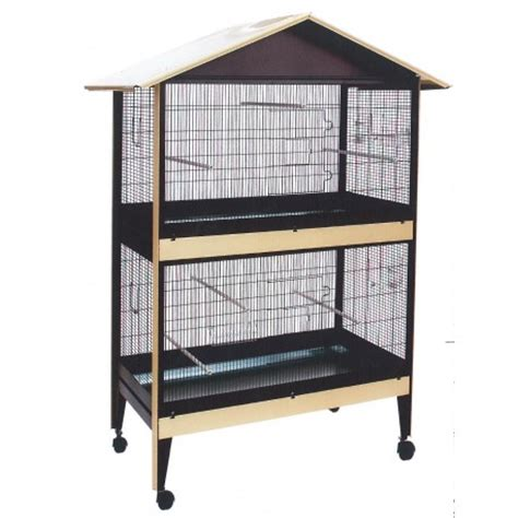 gabbie per uccellini gabbia voliera zincata e verniciata doppia uccelli damo