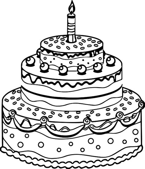 cake coloring pages printable birthday cake coloring pages coloring me