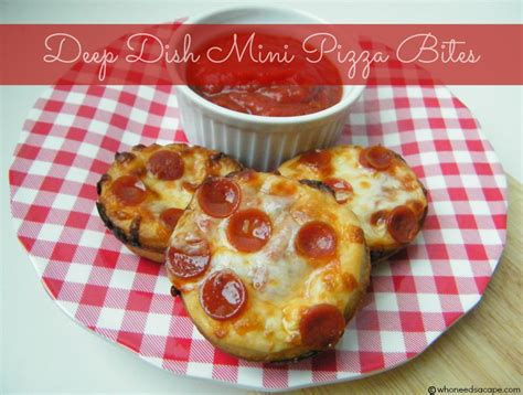 needs pizza mini dish pizzas recipes dishmaps