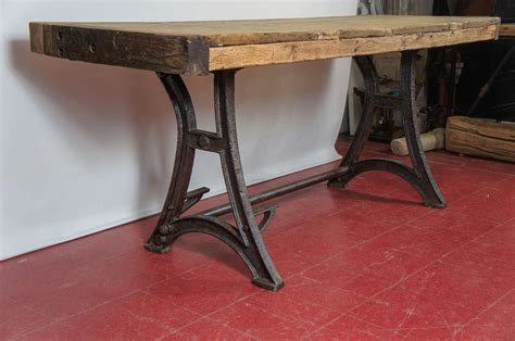kitchen island bench for sale industrial steel workbench kitchen island table at 1stdibs