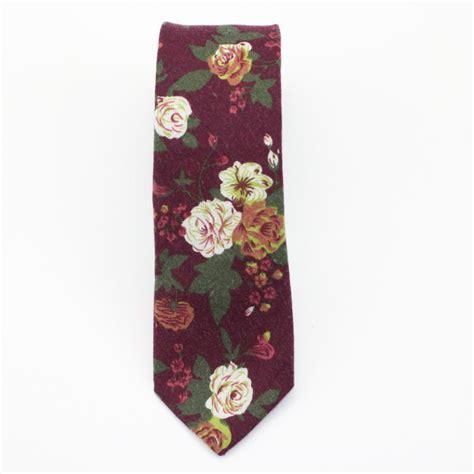flower pattern tie brown flowery neck tiekruwear chicago based bow ties bow
