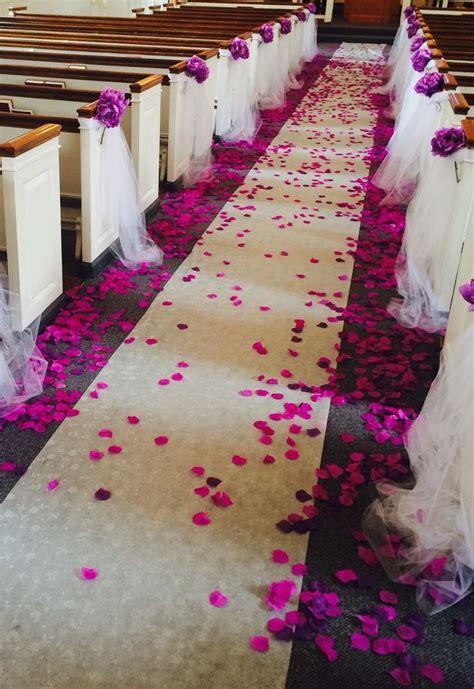 Church Decoration for Wedding   Church/outside weddings