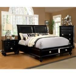 Platform Bed With Storage Overstock Furniture Of America Modern 2 Platform Bed With