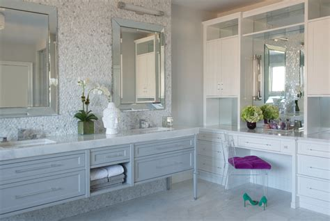 glam bathroom ideas modern glam transitional bathroom new york by