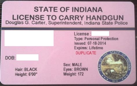 Can You Get A Gun License With A Criminal Record The New Indiana Quot Plastic Quot License To Carry Handgun