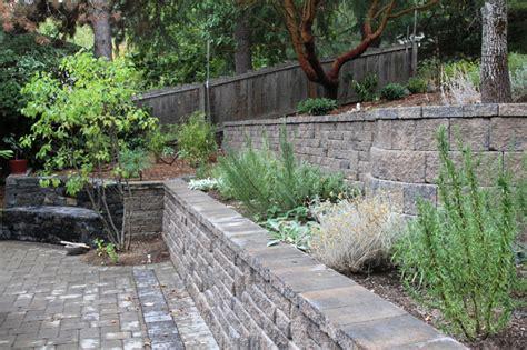 retaining walls landscape design ashland medford