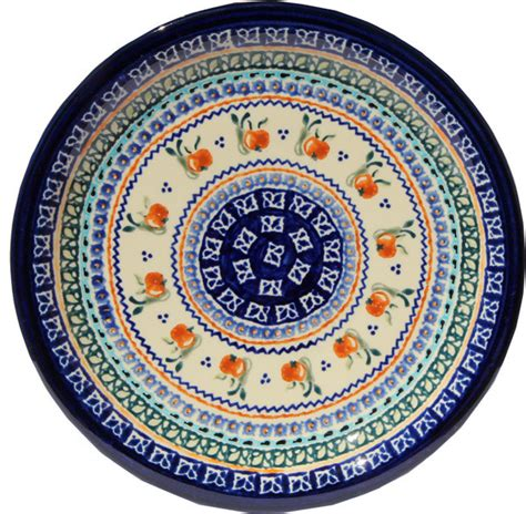 polish pottery dinner plate pattern number 233ar polish pottery dinner plate pattern number du71