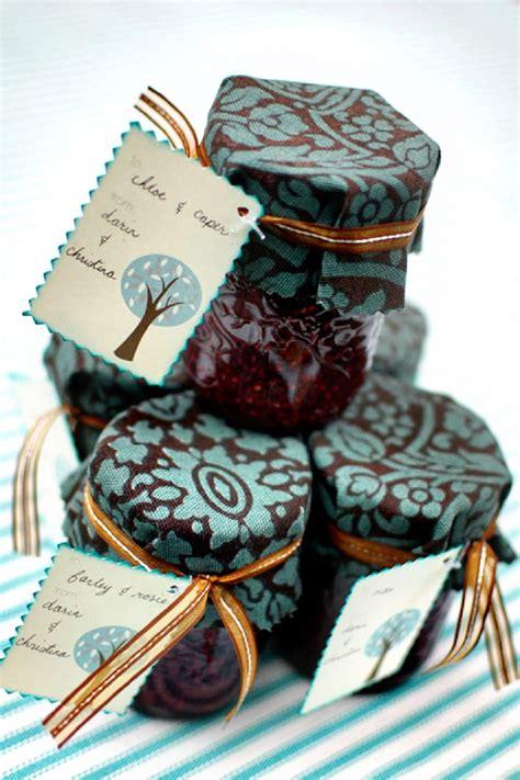 Handmade Jam - top 10 most creative diy bridal shower favors