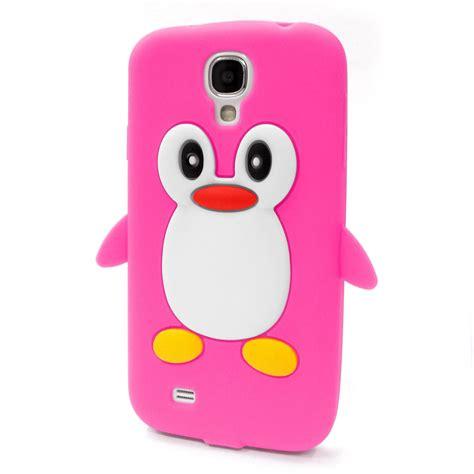 Cover Samsung S3mini for galaxy s3mini s4mini penguin silicone