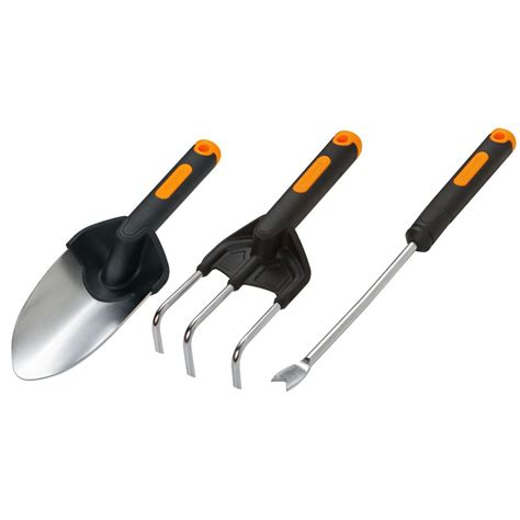 fiskars duraframe garden tools set the home depot canada