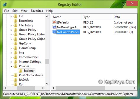 unable to access pc settings in windows 8 1 microsoft fix unable to access pc settings control panel in