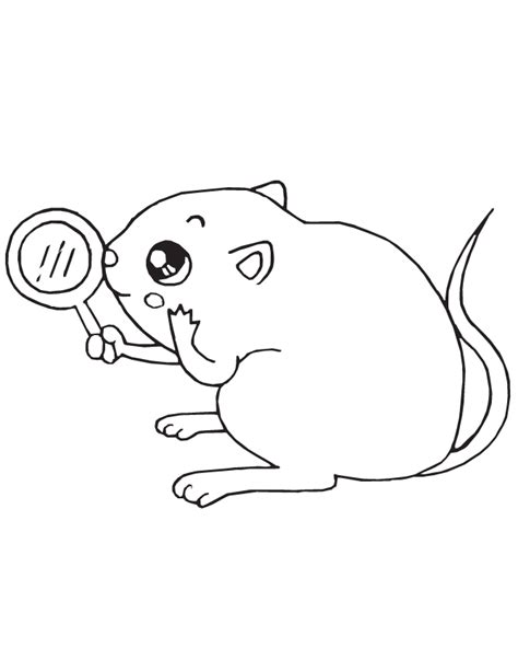 Coloring Page Mouse by Mouse Coloring Page H M Coloring Pages