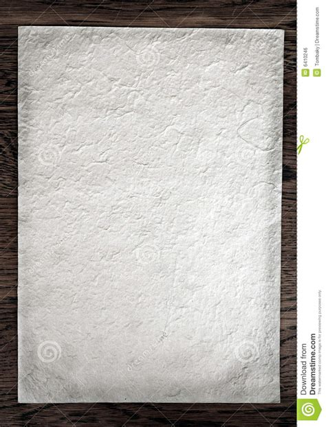 White Handmade Paper - white handmade paper royalty free stock image image 6410246