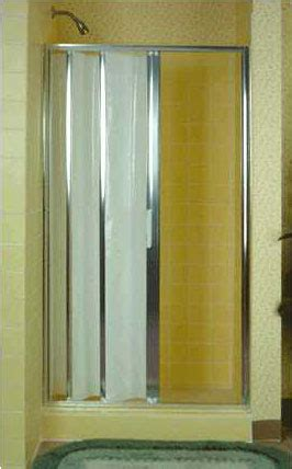 Vintage Shower Doors Folding Accordion Tub And Shower Doors Retro Renovation