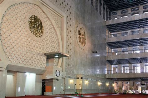 desain masjid istiqlal masjid istiqlal simbol kemerdekaan bangsa indonesia