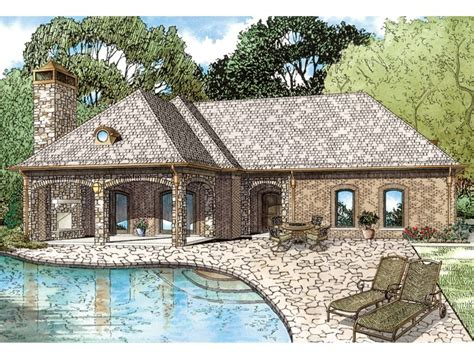 Garage Pool House Plans Garage Apartment Plans Unique Garage Apartment Plan Doubles As A Pool House 025g 0003 At