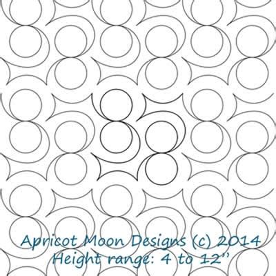 Digital Quilting Designs Free by Swing Apricot Moon Digitized Quilting Designs