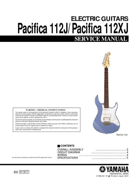 yamaha pacifica 112j wiring diagram efcaviation