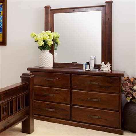 timber bedroom furniture sydney rustic dresser with mirror wooden furniture sydney