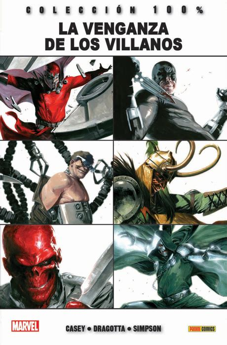 la venganza de los la venganza de los villanos c 243 mic 100 marvel mil comics tienda de c 243 mics y figuras tint 237 n