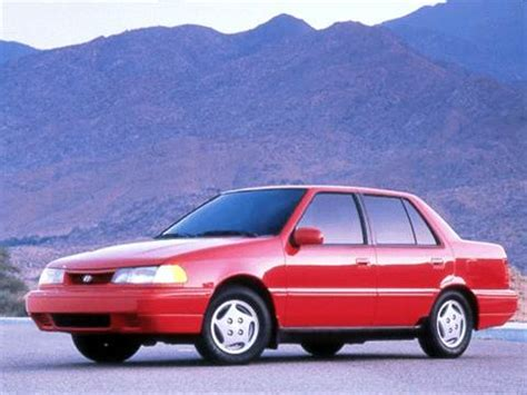 1993 hyundai excel pricing ratings reviews kelley blue book