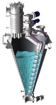 vaccum dryer vrieco nauta 174 vacuum dryers drying flash vacuum