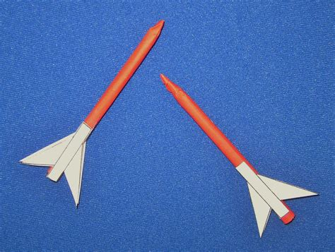 How To Make A Rocket Ship With Paper - nasa paper rocket template page 2 pics about space