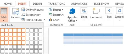 How To Create A Table In Powerpoint 2013 Free Powerpoint Templates How To Make A Powerpoint Template 2013