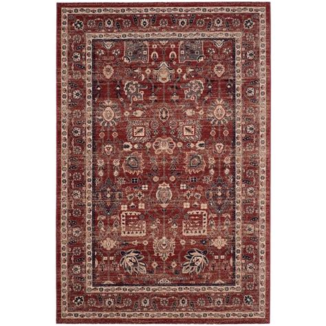 Artisan Area Rugs Safavieh Artisan Rust 6 Ft 7 In X 9 Ft Area Rug Atn326n 6 The Home Depot