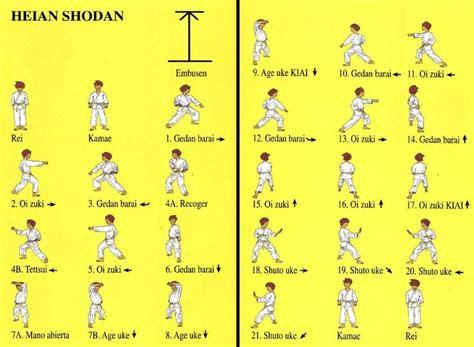 design form 1 kata heian shodan karate pinterest karate
