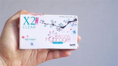 Silicone Hydrogel X2 Clear raden ayu imaginary friend review