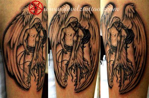 tattoo angel love tattoo art work by tattoo artist angel wings love tattoo
