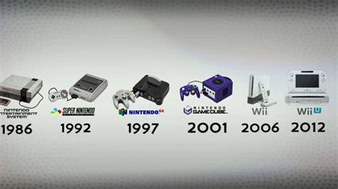 nintendo console nintendo console evolution
