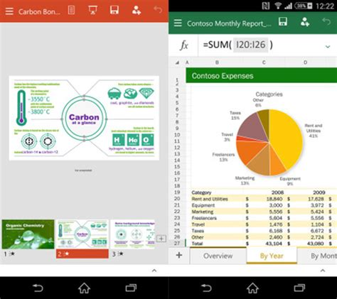 Microsoft Word Office For Android by Microsoft Brings Office To Android Smartphone